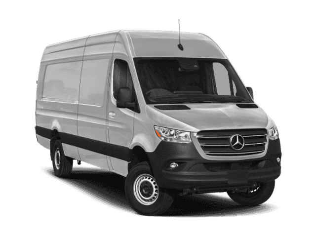 New 2019 Mercedes-Benz Sprinter Cargo Van 2500 High Roof V6 170 Extended RWD