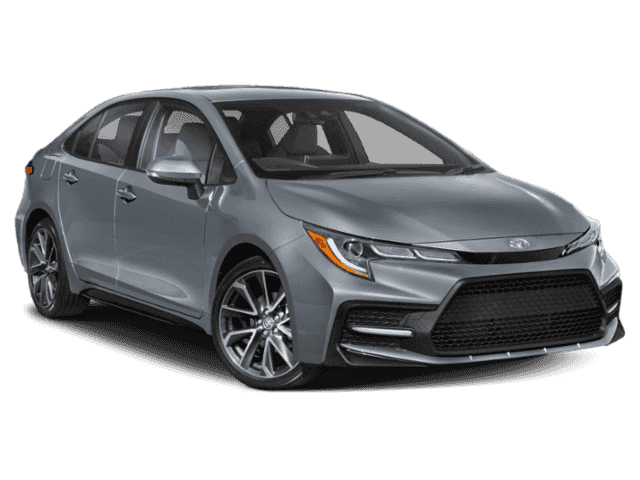 New 2020 Toyota Corolla 4Dr. Sedan XSE