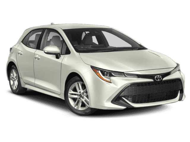 Stock #: 39164 Blizzard Pearl with Black Roof [extra_cost_color] 2020 Toyota Corolla Hatchback SE 5D Hatchback in Milwaukee, Wisconsin 53209
