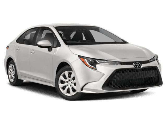 Stock #: 38483 White 2020 Toyota Corolla LE 4D Sedan in Milwaukee, Wisconsin 53209