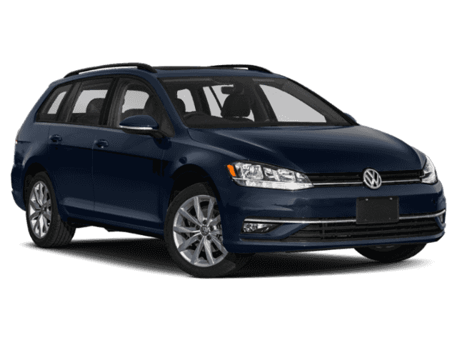 New 2019 Volkswagen Golf SportWagen S