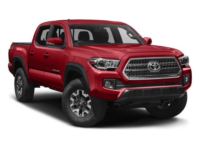 New 2017 TOYOTA TACOMA DOUBLE CAB 5' BED V6 4X4 4WD TRD OF