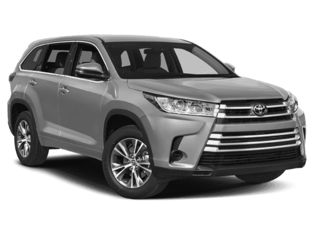 New 2019 TOYOTA Highlander LE Plus 4WD V6