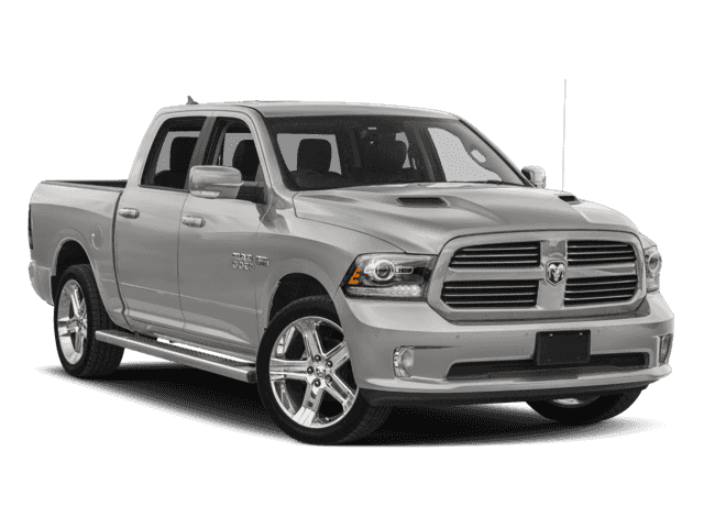 2018 Ram 1500 Sport Crew Cab | Leather | Sunroof | Navigation