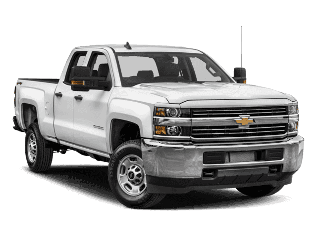 New 2018 Chevrolet Silverado 2500HD Work Truck 4WD Double Cab