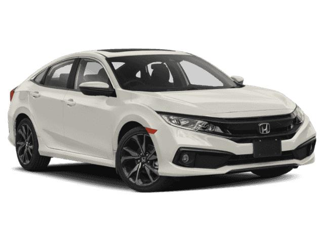Demo 2019 Honda Civic Sedan Sport CVT