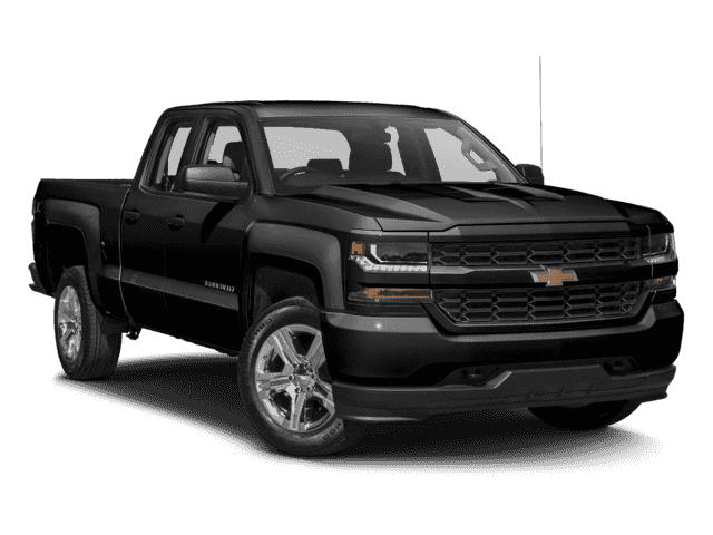 Pre-Owned 2017 Chevrolet Silverado 1500 4WD Double Cab 143.5 Custom