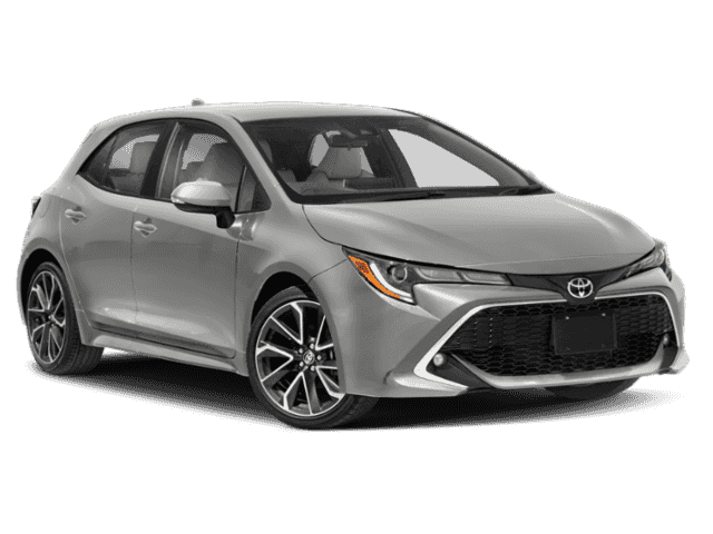 New 2020 Toyota Corolla Hatchback XSE Manual