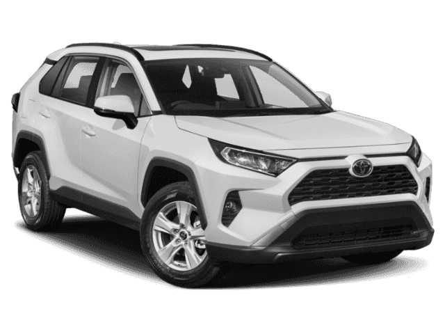 Stock #: 37721 White 2019 Toyota RAV4 LE 4D Sport Utility in Milwaukee, Wisconsin 53209