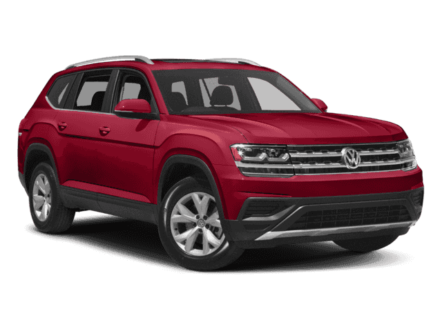 New 2018 Volkswagen Atlas Comfortline 3.6L 8sp at w/Tip 4motion