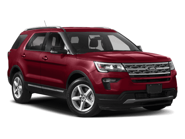 New 2018 Ford Explorer Limited With Navigation