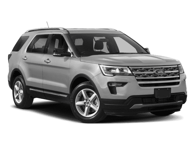 New 2018 Ford Explorer 4DR FWD BASE