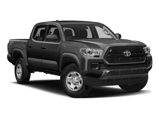 New 2018 Toyota Tacoma SR Double Cab 4x4 V6 Short Bed