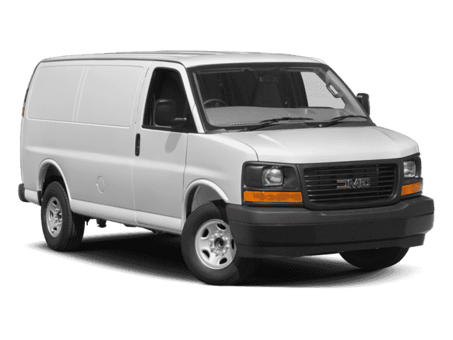 New 2017 GMC Savana 2500 Work Van RWD 3D Cargo Van