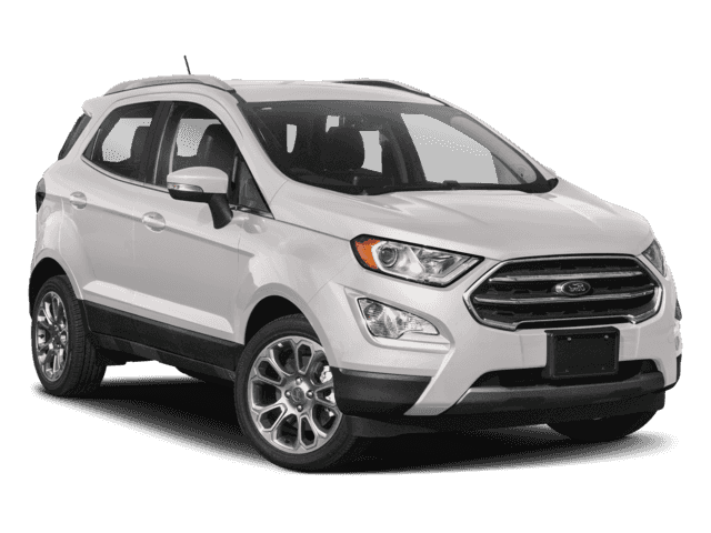 New 2018 Ford EcoSport Titanium with Navigation & 4WD