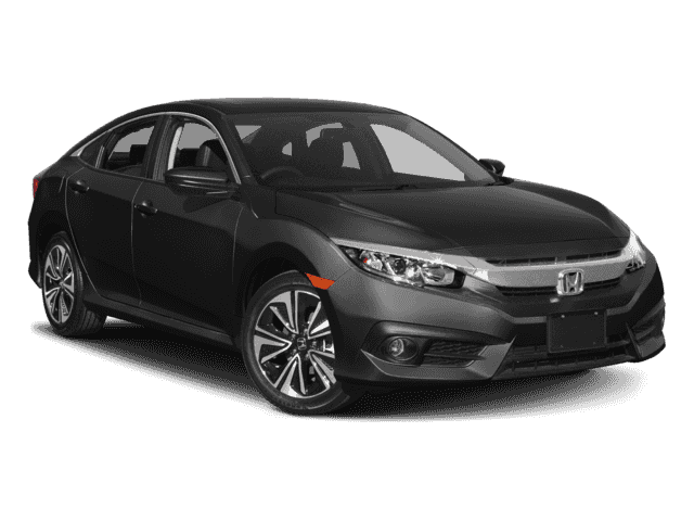 New 2017 Honda Civic EX-L FWD 4D Sedan