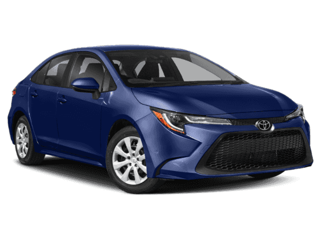 New 2020 Toyota Corolla LE 4dr Car FWD