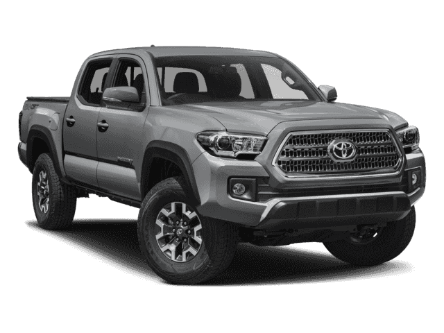 New 2018 Toyota Tacoma 4x4 TRD Off-Road 4dr Double Cab 6.1 ft LB