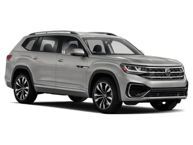 New 2021 Volkswagen Atlas 3.6L V6 SE w/Technology R-Line w/Technology R-Line and 4Motion