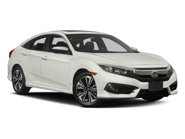 New 2018 Honda Civic EX-L CVT w/Navigation