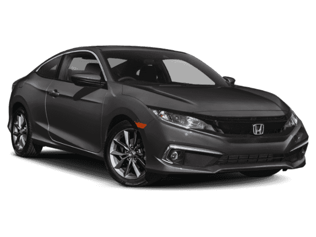 New 2019 Honda Civic EX CVT FWD 2dr Car