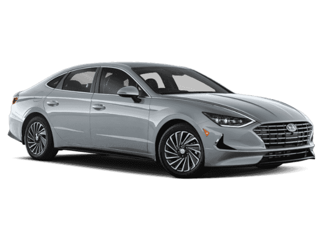 New 2020 Hyundai Sonata Hybrid Blue FWD 4D Sedan
