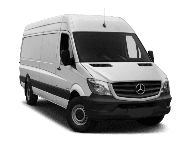 New Mercedes-Benz Sprinter Cargo Van 2500 High Roof V6 170 RWD