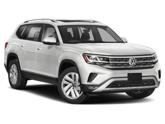 New 2021 Volkswagen Atlas 3.6L V6 SE w/Technology 4MOTION