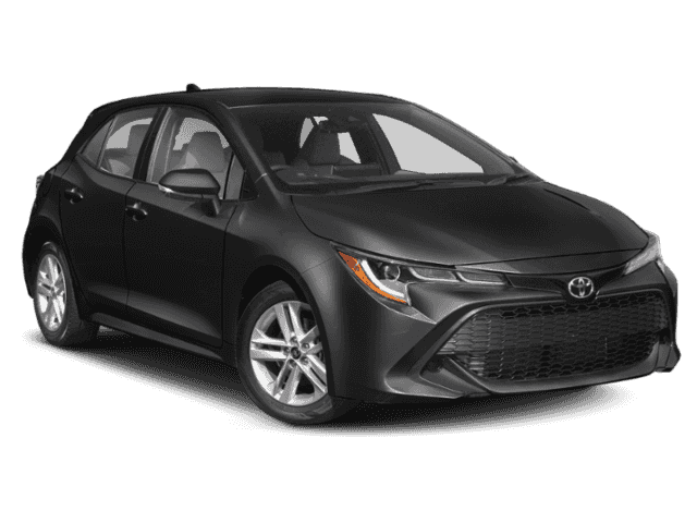 Stock #: 39264 Midnight Black Metallic 2020 Toyota Corolla Hatchback SE 5D Hatchback in Milwaukee, Wisconsin 53209