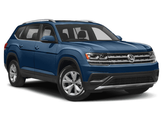New 2019 Volkswagen Atlas 3.6L V6 SEL 4MOTION With Navigation & AWD