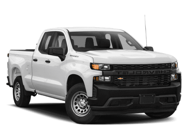 New 2019 Chevrolet Silverado 1500 2WD Double WT