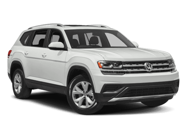 New 2018 Volkswagen Atlas Comfortline 3.6L 8sp at w/Tip 4MOTION AWD