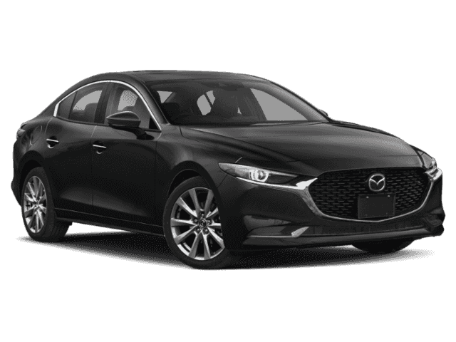 New 2020 Mazda3 GS With Navigation & AWD