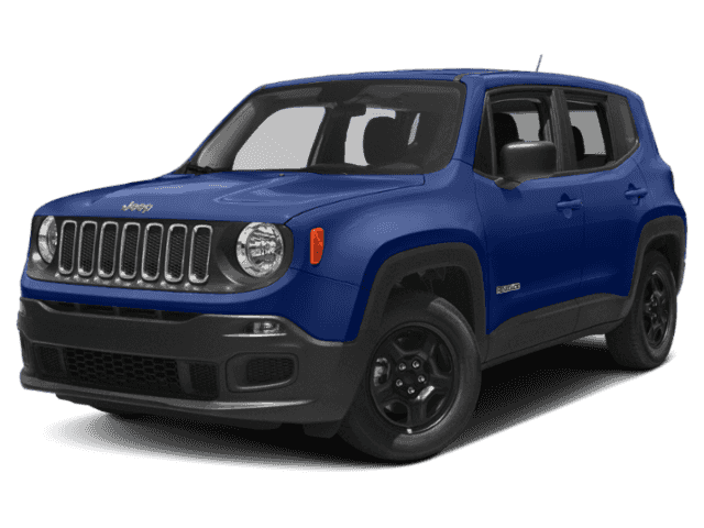 New 2018 JEEP Renegade 4d SUV 4WD Latitude Altitude