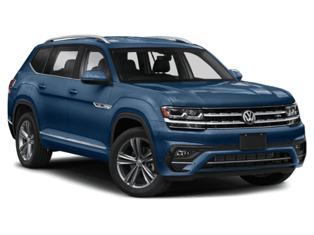New 2019 Volkswagen Atlas SEL R-Line and 4Motion