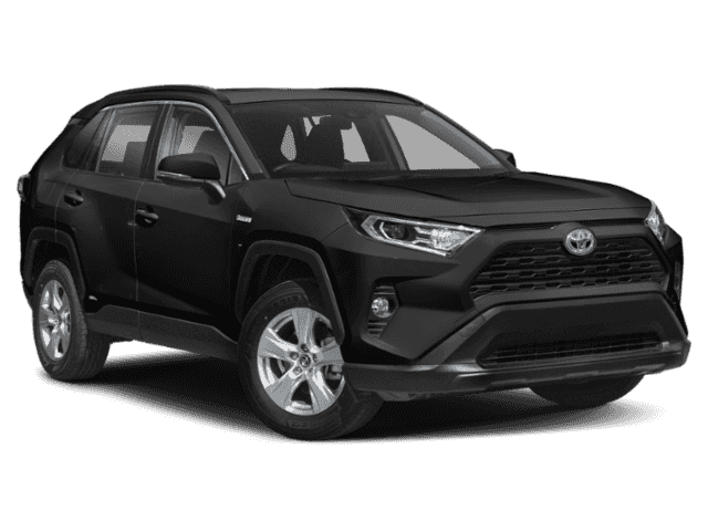 Stock #: 38627 Black 2019 Toyota RAV4 Hybrid XLE 4D Sport Utility in Milwaukee, Wisconsin 53209