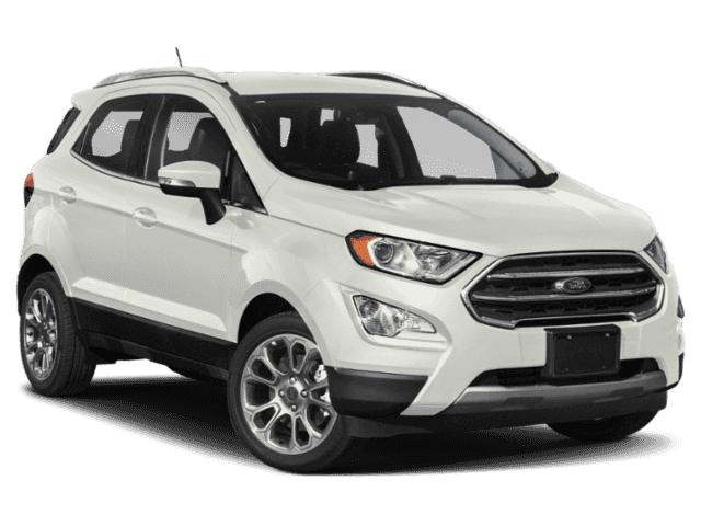 New 2020 Ford EcoSport SE 4WD SUV