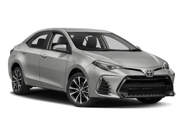 New 2018 TOYOTA Corolla 4Dr. Sedan SE