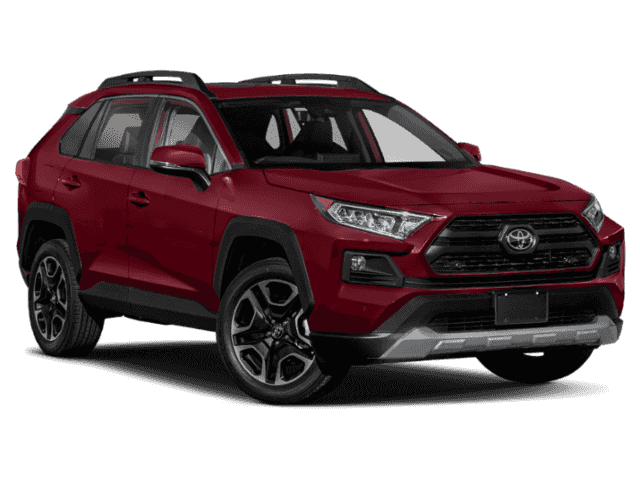 Stock #: 39022 Ruby Flare Pearl [extra_cost_color] 2020 Toyota RAV4 Adventure 4D Sport Utility in Milwaukee, Wisconsin 53209