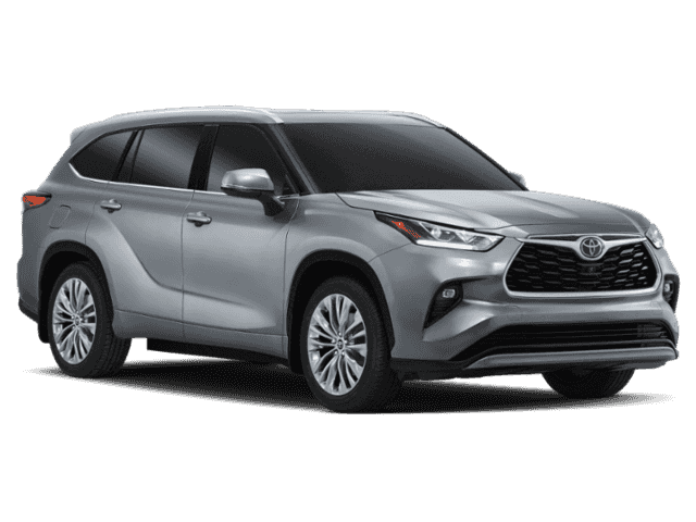 New 2020 Toyota Highlander Platinum AWD With Navigation & AWD