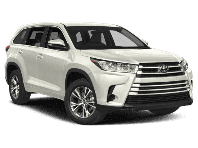 New 2019 Toyota Highlander LE V6