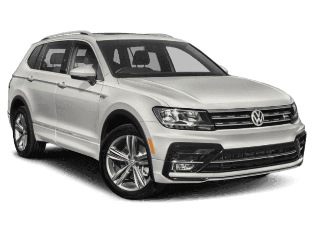 New 2020 Volkswagen Tiguan SE R-Line Black with 4MOTION®