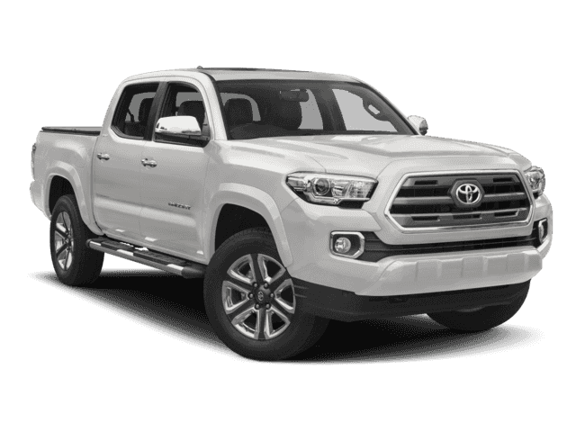 New 2017 Toyota Tacoma Limited With Navigation & 4WD