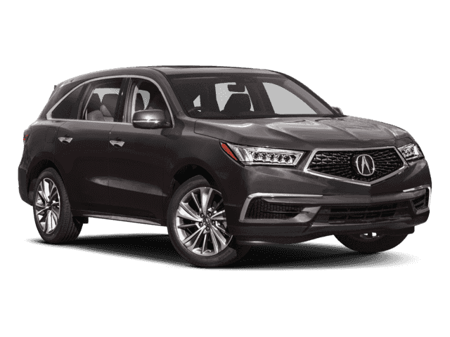 New 2018 Acura MDX w/Technology Pkg With Navigation & AWD