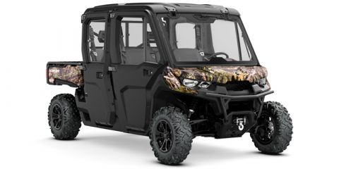 New 2019 Can-Am Defender MAX XT™ CAB HD10 Mossy Oak Break-Up Country Camo Utility