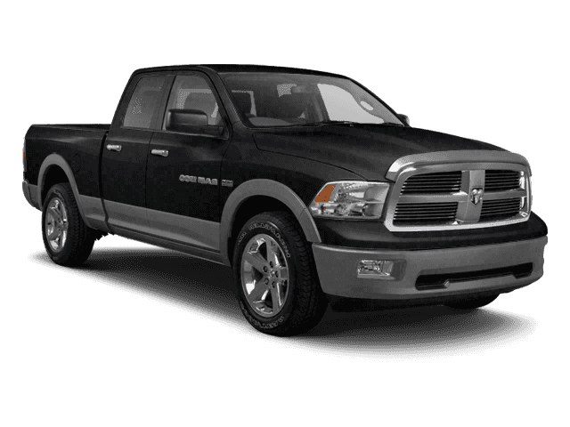 Pre-Owned 2010 Dodge Ram 1500 4WD Quad Cab 140.5 TRX 4WD