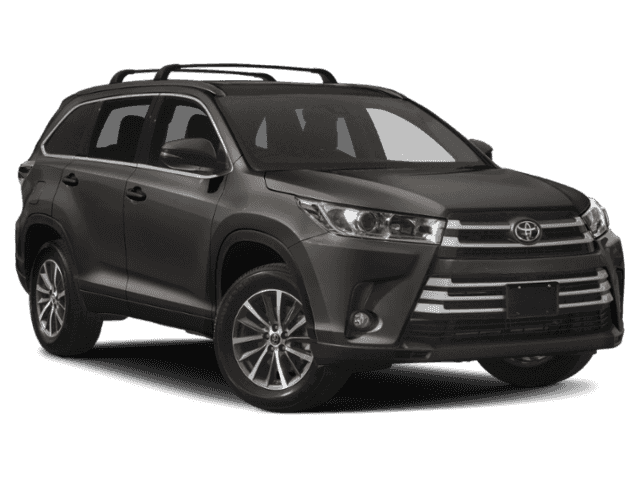 New 2019 Toyota Highlander XLE AWD 4