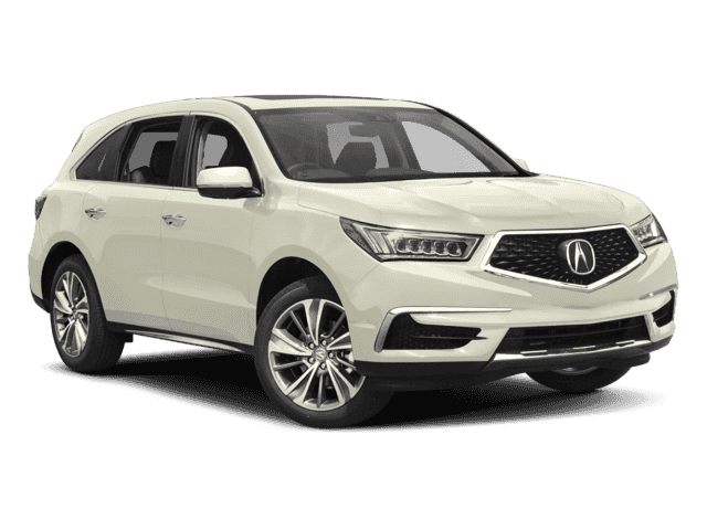 New 2017 Acura MDX Tech With Navigation & AWD