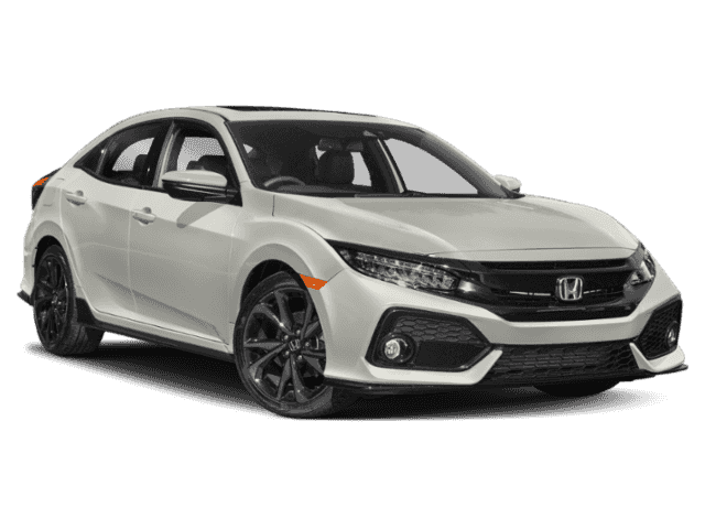 New 2019 Honda Civic Hatchback Sport Touring Cvt Front Wheel Drive Sedan