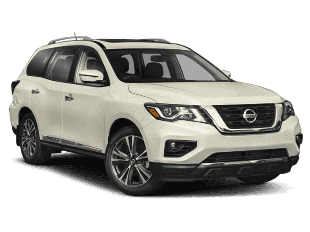 New 2020 Nissan Pathfinder Platinum With Navigation & 4WD